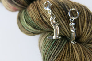 3D Otter Stitch Marker Place Keeper