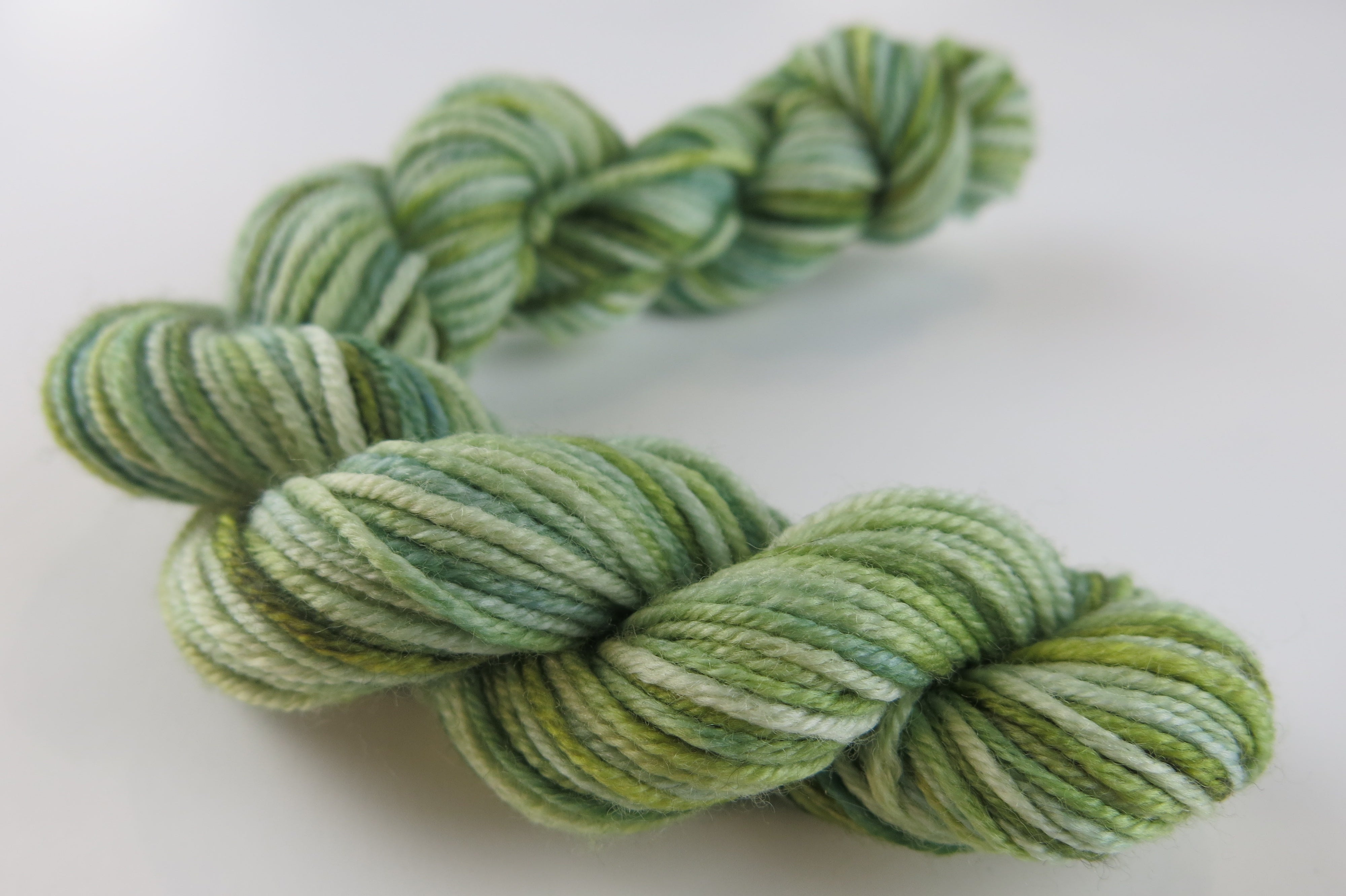 Green as Glass on Patsy DK - Mini Skein