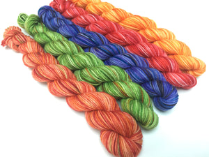 20g sock yarn mini skein set for blankets and socks