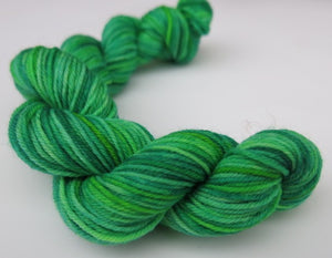 Slimer - Mini Skein on Choufunga Sock
