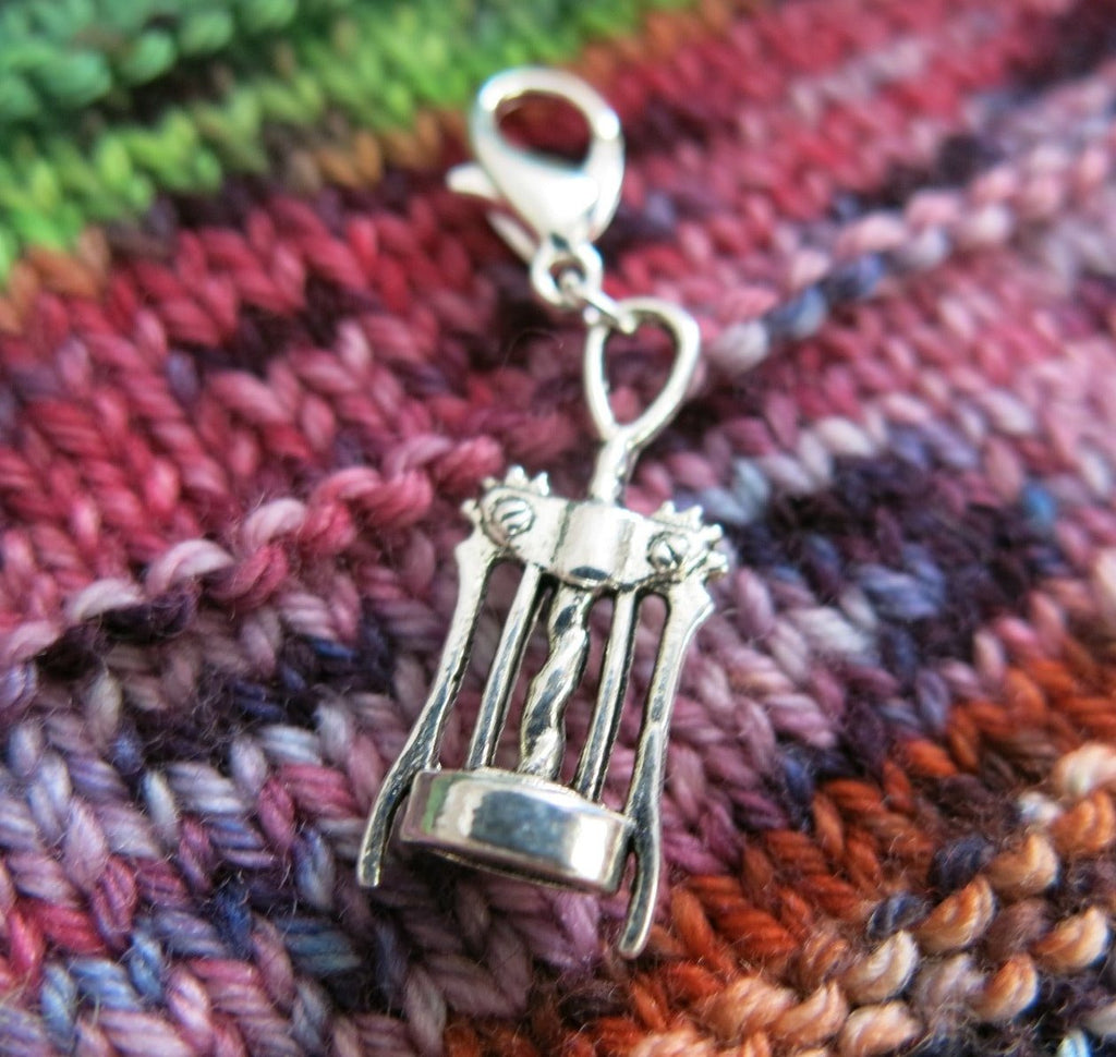 bottle opener charm for bracelets, bags, crochet and knitting
