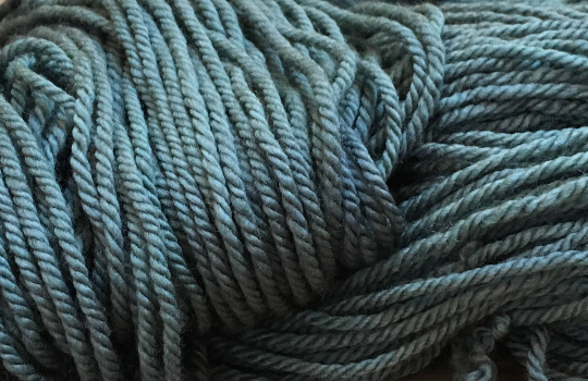 kettle dyed merino aran inspired by alice in wonderland
