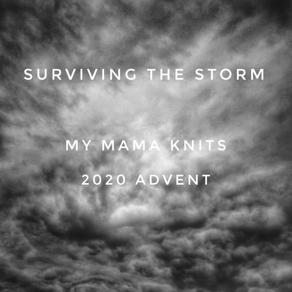 2020 Yarn Advent Countdown Calendar on Choufunga Sock - Surviving the Storm