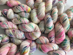 hand dyed alice in wonderland merino dk yarn