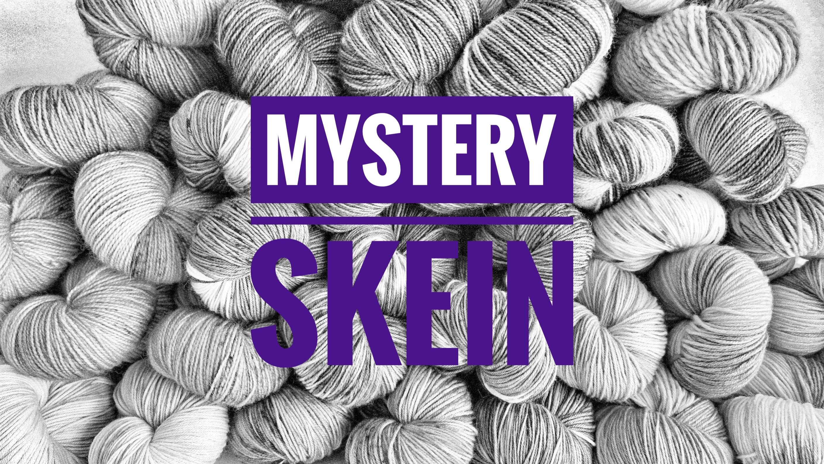 bargain indie dyed surprise mystery yarn skein sale