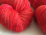 Ruby on Twinkle Toes Sock - Mini Skein