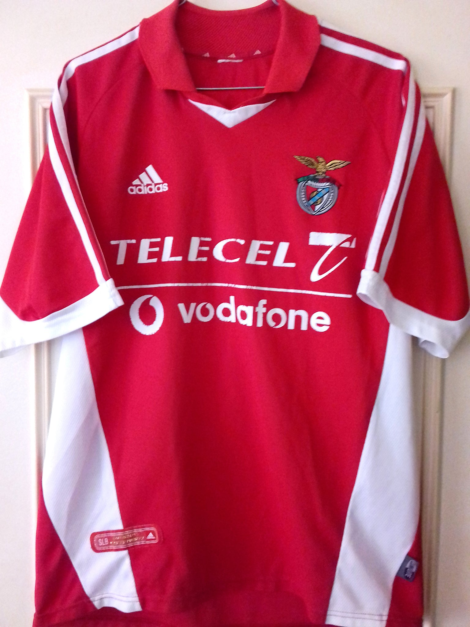 wholesale dealer 0c0ac b8349 Football Shirt Jersey Benfica Home - 2001/2002 - M ...