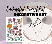 Enchanted Forest Monthly Sticker Kit