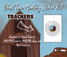 Ghost Town Sticker Kit Theme and Trackers