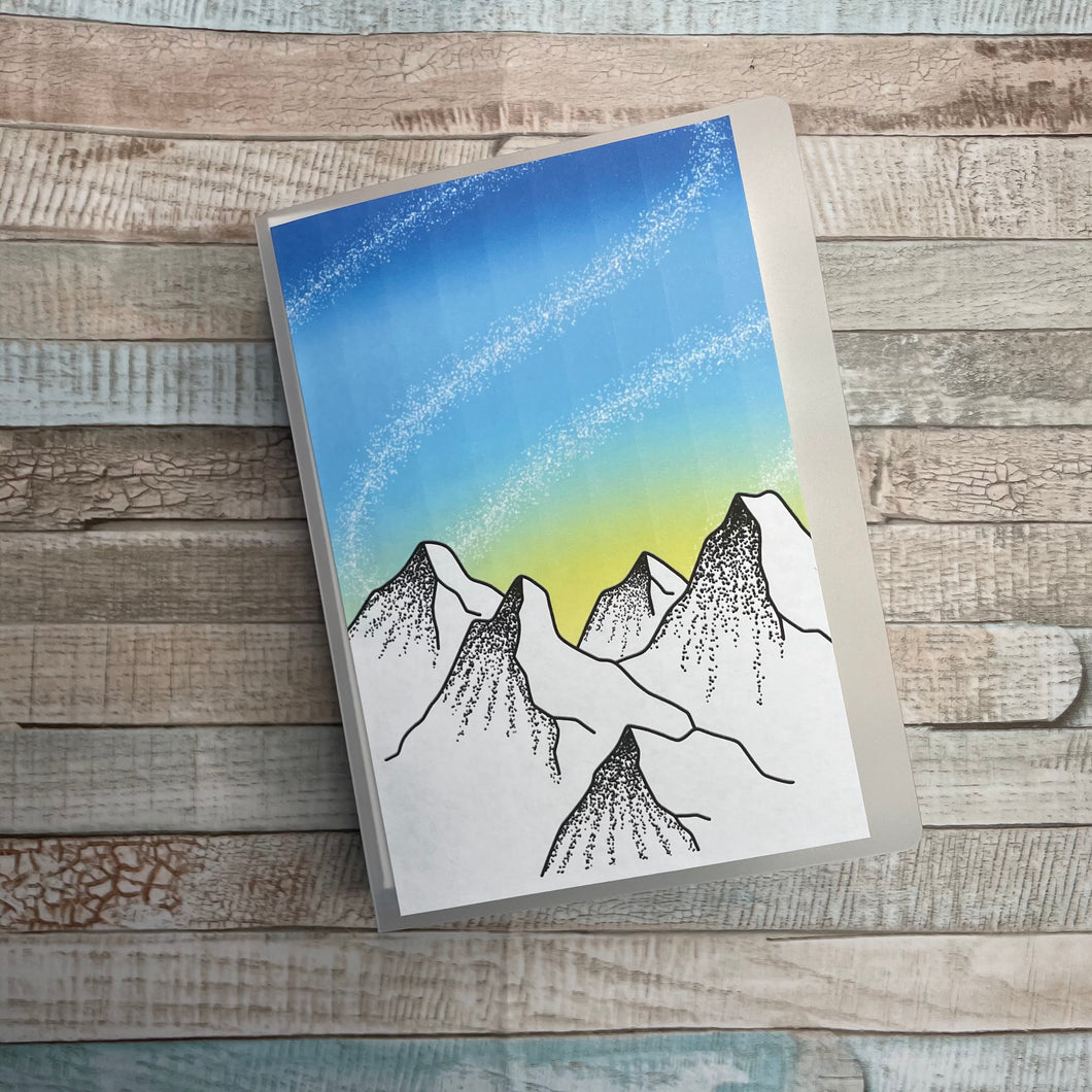 Mountain Art Sticker Album 5x7