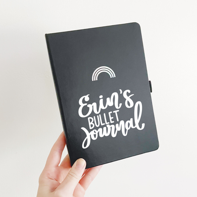 Custom Name Vinyl Bullet Journal Sticker