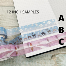 Washi Tape Destash (SAMPLE SIZES)