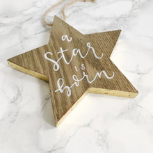 Customizable Baby Name Wooden Christmas Tree Ornament, Baby's First Christmas, Christmas Ornament Gift