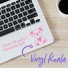 Mini Koala Laptop Vinyl Sticker - VY2
