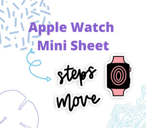 Apple Watch Fitness Doodles - DD19