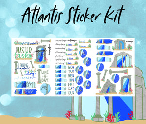 Atlantis Sticker Kit