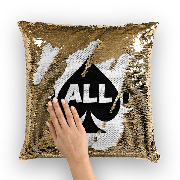 Go All In Sequin Cushion