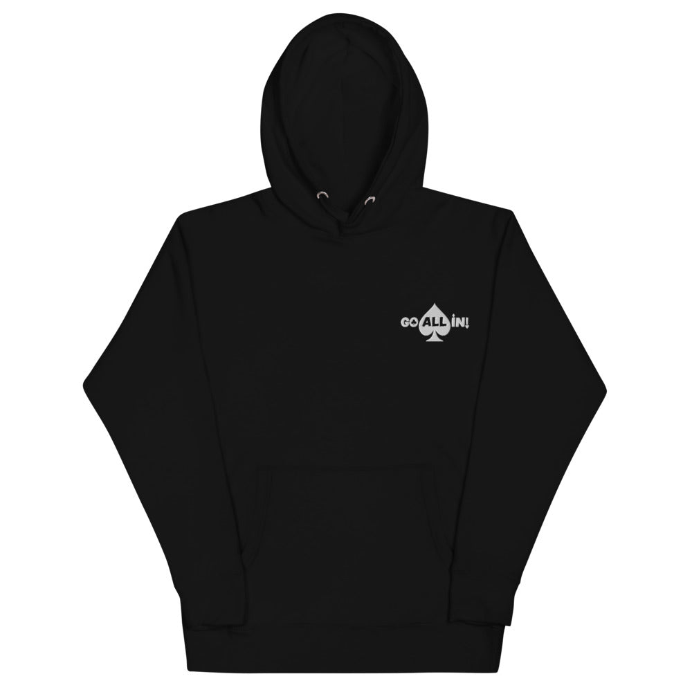 Go All In Logo Women's Performance Hoodie