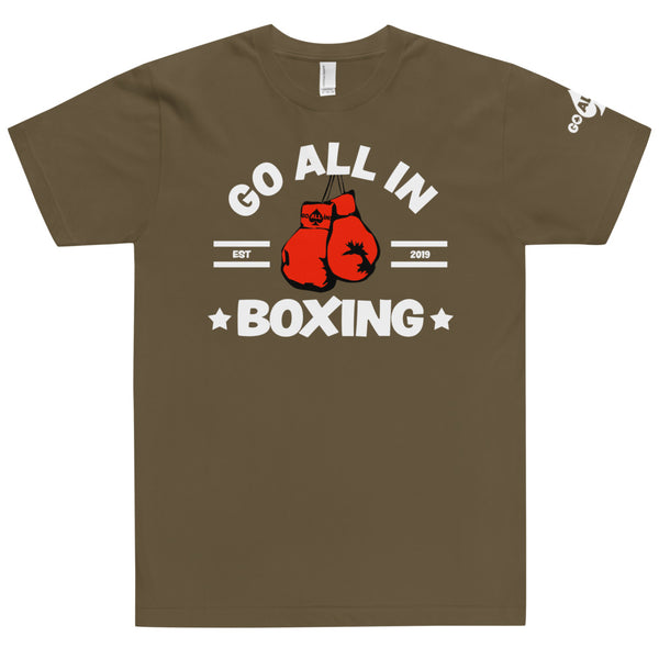 Go All In Boxing Mens Performance T-shirt