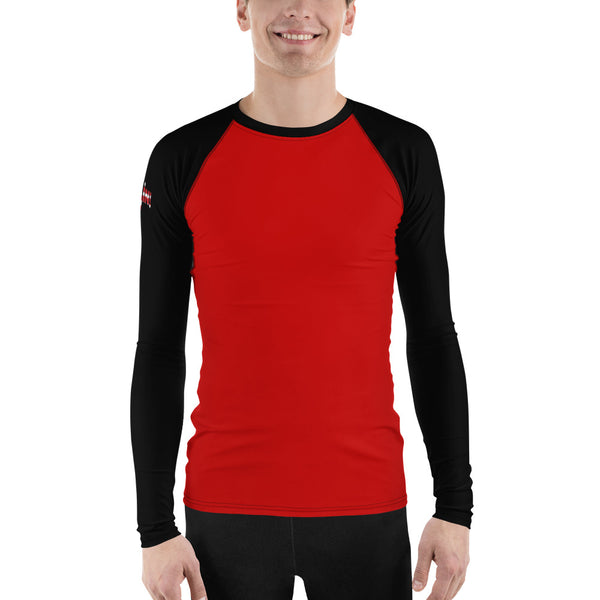 Go All In Flag Men's Performance Fitness Long sleeve