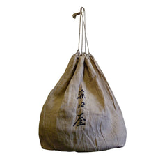 An Oversized Hemp Drawstring Bag: Meiji Era