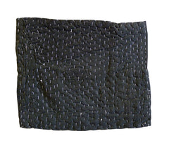 A Large Black Zokin: Recycled Clothing