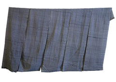 A Long Piece of Resist Dyed Cotton: Festival Stripes