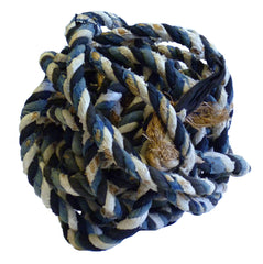 A Ball of Festival Twine: Cotton Covered Bast Fiber