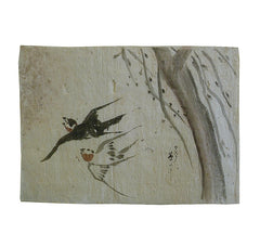 A 19th Century Depiction of Swallows #3: Hand Painted