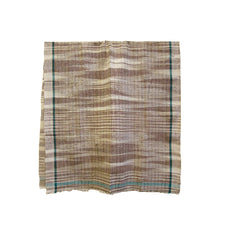 A Cotton Indian Khadi Towel #2: Handspun Yarns
