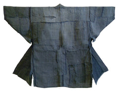 A Very Patched Boro Hemp Jacket: Subtle Blue Grey
