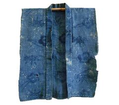 A Stunningly Beautiful Itajime Han Juban: Thick Cotton Twill