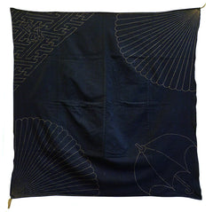 An Unusual Sashiko Furoshiki: Western Style Umbrella