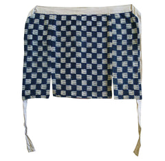 A Reversible Kasuri Maekake: Traditional Apron