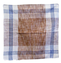 An Indian Khadi Cotton Square #5: Hand Spun and Hand Woven