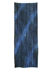 A Length of Shibori: Gradient Blues