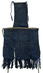 A Fanciful Knotted Festival Apron: Cotton Yarn