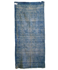 A Resist Dyed Cotton Miao Wedding Cloth: Chinese Minority Indigo Dyeing