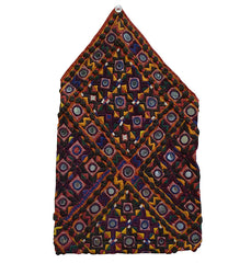An Intensely Decorated Embroidered Rajasthani Bag: Superb Condition