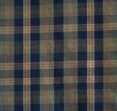 A Beautiful Plaid Length: Taisho Futon Cover Panel
