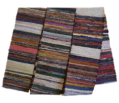 A Multi-colored Sakiori Obi: Silk Weft