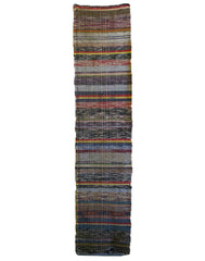 A Length of Sakiori Cloth: Muted Colors and Interesting Warp