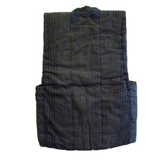 A Padded, Pieced Cotton Vest: Recycled Cottons