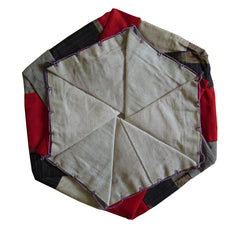 A Six Sided Intricately Folded Silk Bag: Pop-Up