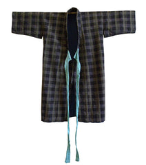 A Child's Cotton Kimono: Subtle Checks