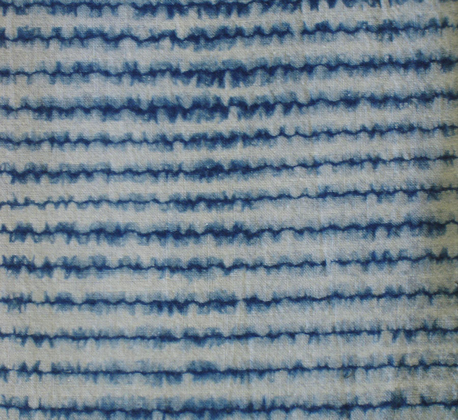 Sri | A Length of Nui Shibori: Stitched Chidori Technique