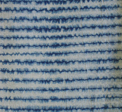 A Length of Nui Shibori: Stitched Chidori Technique
