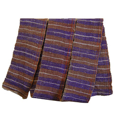 A Rustic Thickly Textured Obi: Purples