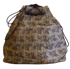 A Silk Drawstring Purse: Toggles and Thin Cording