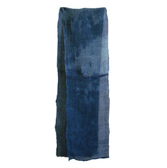 A Length of Blue Kaya: Mottled Dye